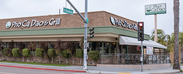 Photo of the Outside of Pho Ca Dao & Grill in Chula Vista